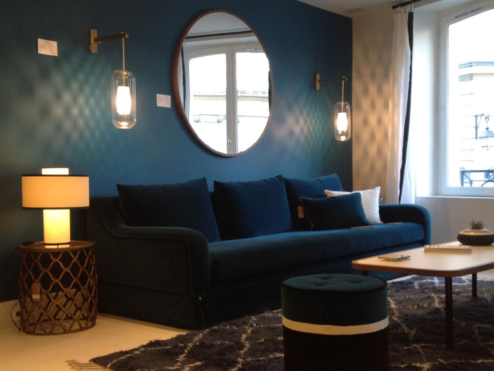 maison sarah lavoine top salon luambiance cosy bleu sarah coffee shop maison sarah deco with. Black Bedroom Furniture Sets. Home Design Ideas