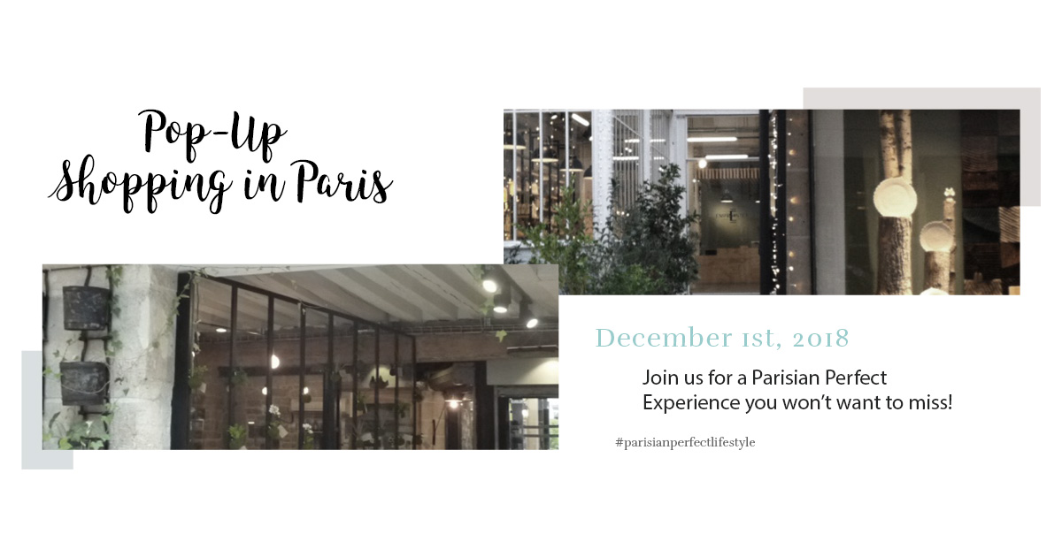 Pop-Up Shopping in Paris